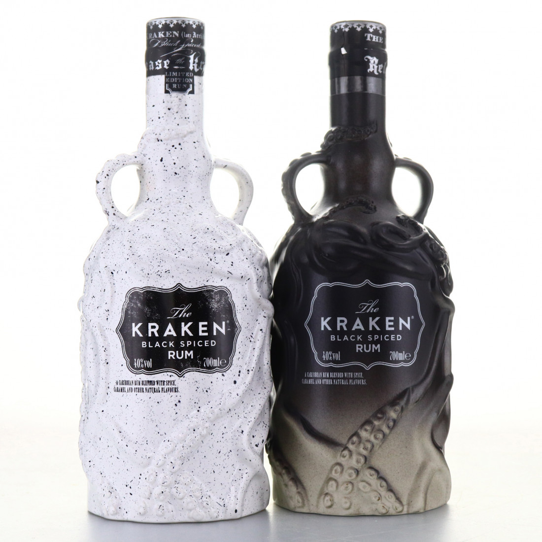Kraken Black Spiced Rum Limited Edition Decanter x 2