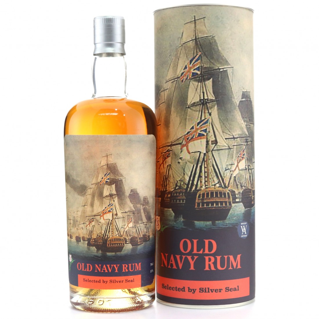 Silver Seal Old Navy Rum