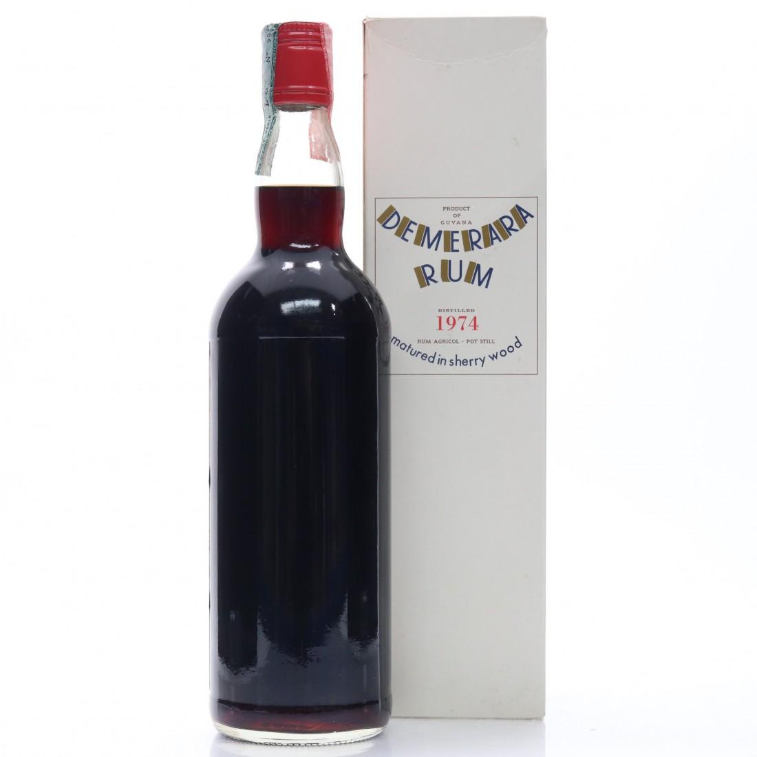 Demerara Rum 1974 Moon Import Sherry Wood