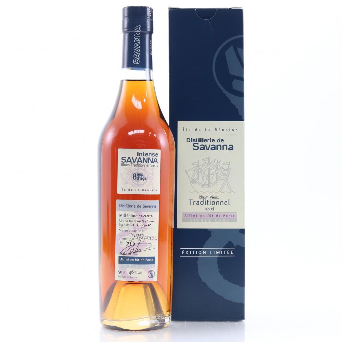 Savanna 2002 Single Cognac Cask 8 Year Old #973 50cl