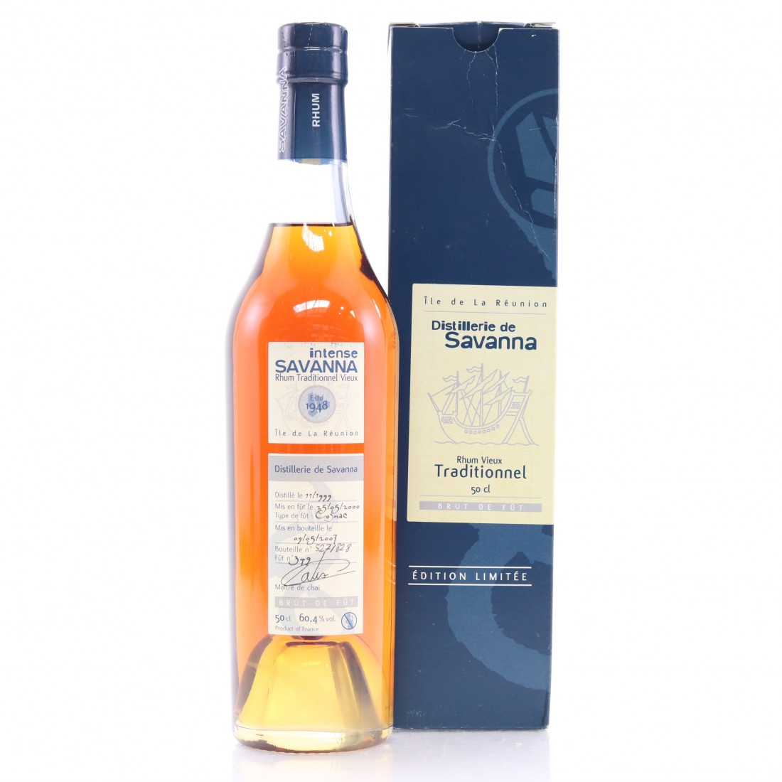 Savanna 1999 Single Cognac Cask #349 50cl