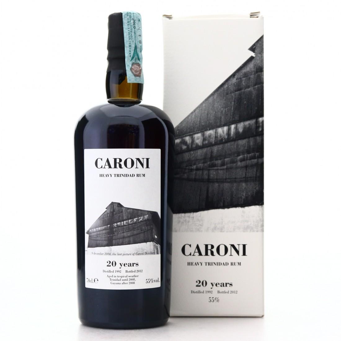 Caroni 1992 Velier 20 Year Old Heavy