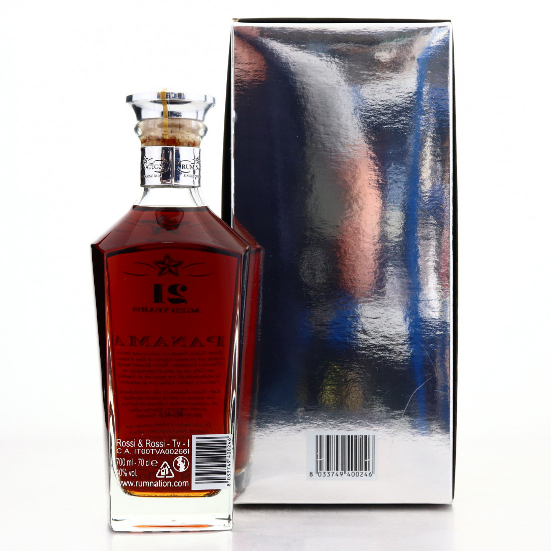 Panama Rum 21 Year Old Rum Nation