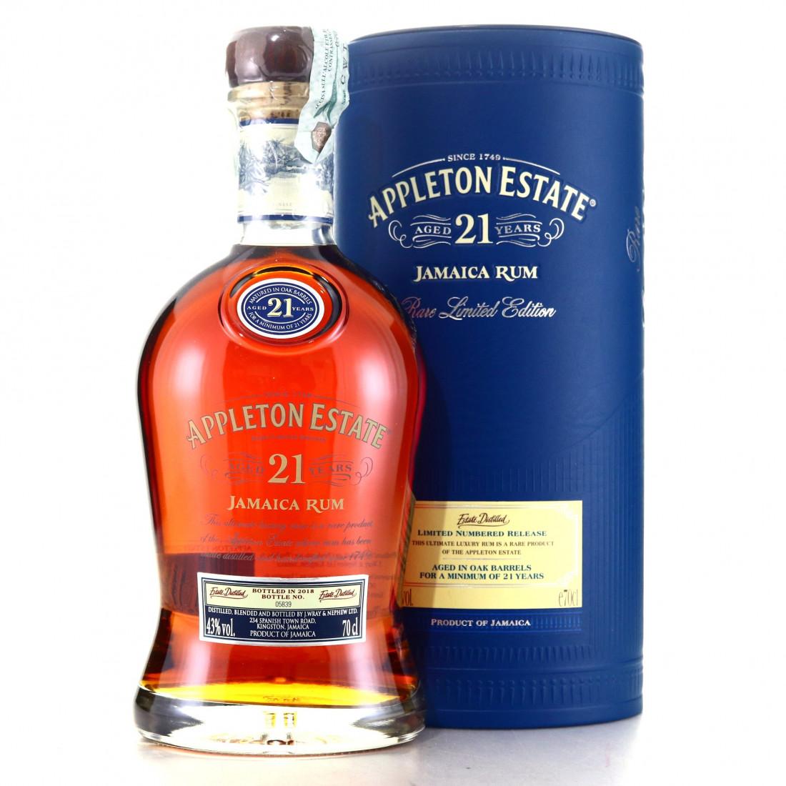 Appleton Estate 21 Year Old 2018