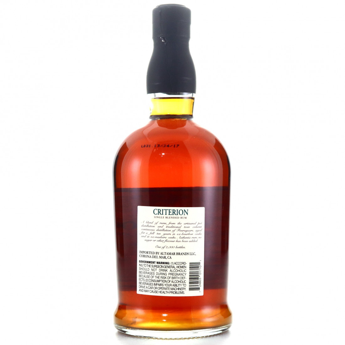 Foursquare 10 Year Old Criterion 75cl / US Import