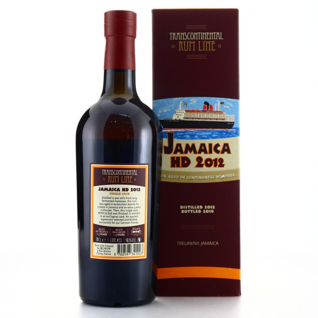 Hampden 2012 Transcontinental Rum Line / Kirsch Spirituosen