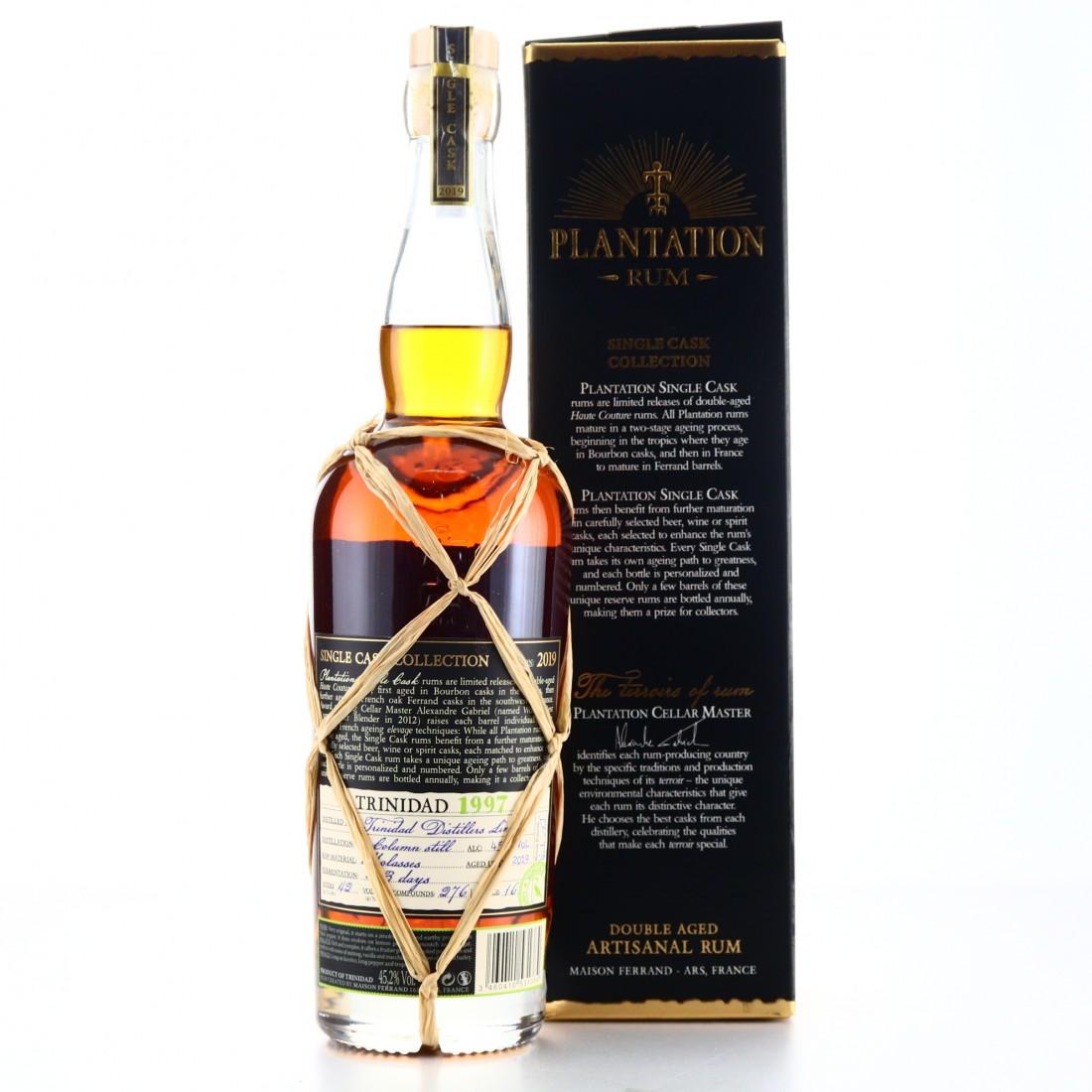 Trinidad Distillers 1997 Plantation / Kilchoman Finish