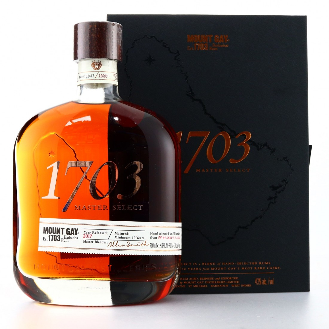 Mount Gay '1703' Master Select 10 Year Old