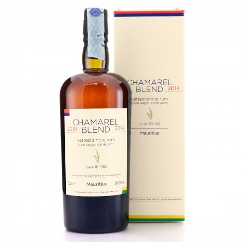Chamarel 2011 Velier 6 Year Old Two Cask Blend / 70th Anniversary