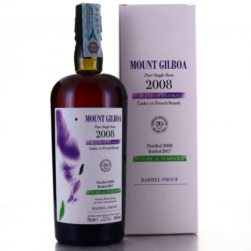 Mount Gilboa 2008 Velier 9 Year Old / 70th Anniversary