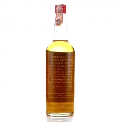 Jon Canoe 15 Year Old Deluxe Quality Rum circa 1960s / Whiskyteca Giaccone