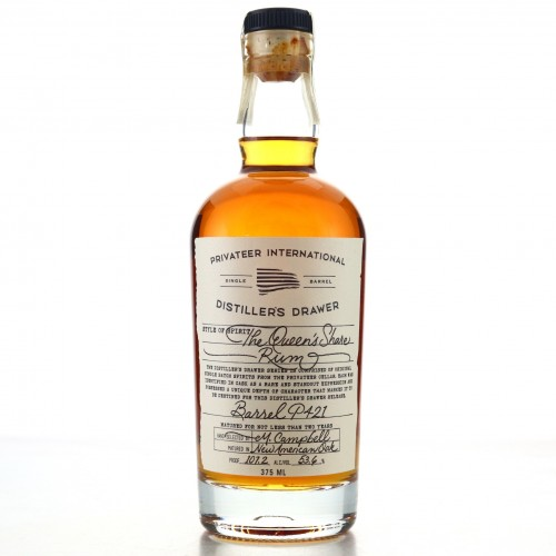Privateer 2 Year Old The Queen's Share Single Cask #P421 37.5cl