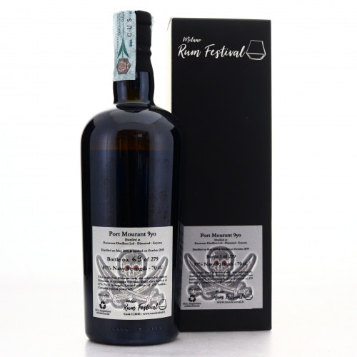 Port Mourant 2010 Milan Rum Festival 9 Year Old