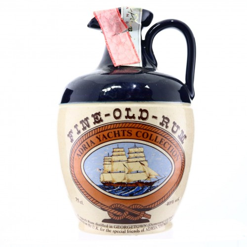 Adria Yachts Collection Fine Old Rum Decanter